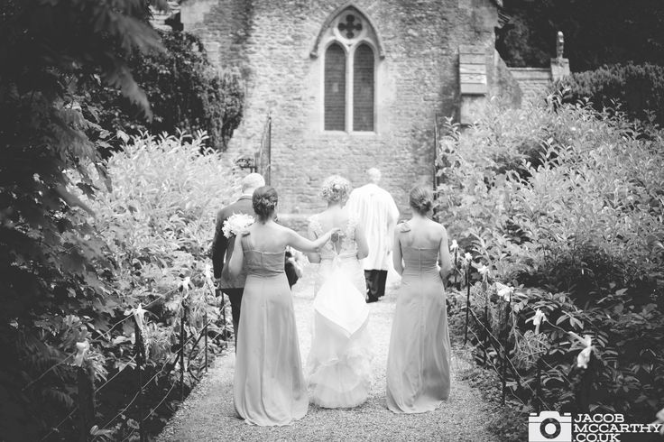 Bridesmaids and brides at Orchardleigh House. Wedding photography by Jacob McCarthy. See more work at www.jacobmccarthy.co.uk