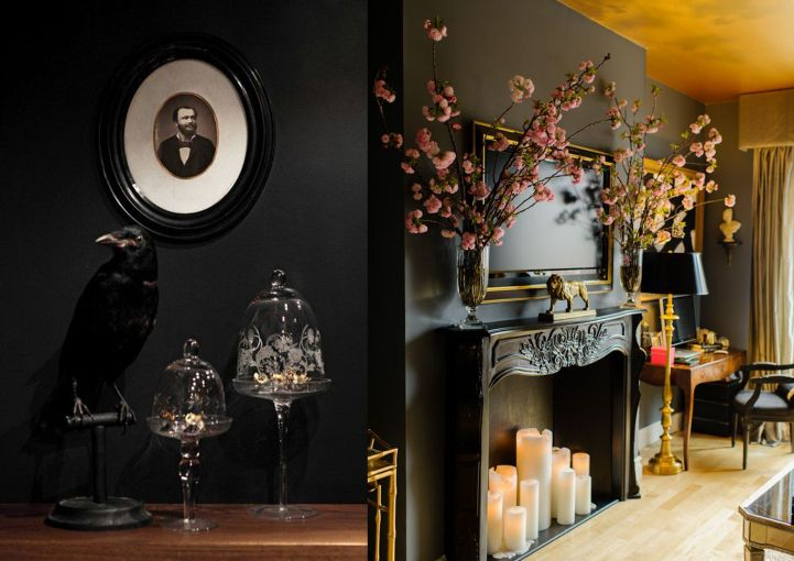les 25 meilleures id es de la cat gorie int rieur gothique sur pinterest d cor maison gothique. Black Bedroom Furniture Sets. Home Design Ideas