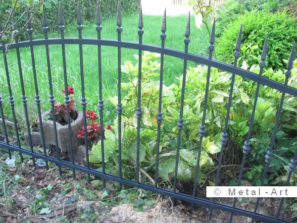 13 best gartenzaun images on Pinterest Garden fencing - gartenzaun metall anthrazit