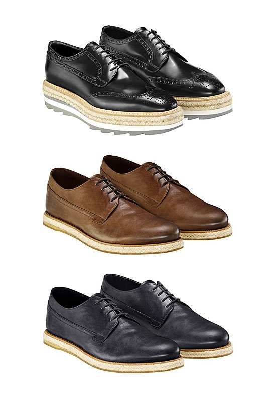 i kinda like the bottom black ones - Men's Shoes, Bags And Sunglasses in  Prada
