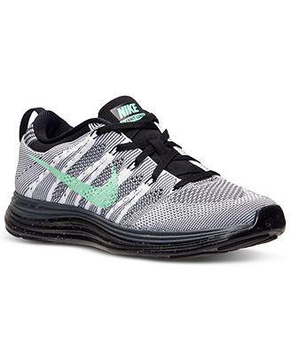 Nike Women's Free Flyknit Lunar 1 Running Sneakers from Finish Line