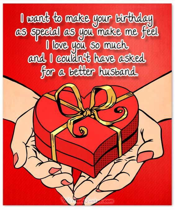 50 Birthday Wishes for Husband – Romantic Birthday Card Sayings