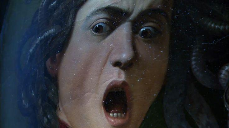 Dettaglio Medusa di Caravaggio