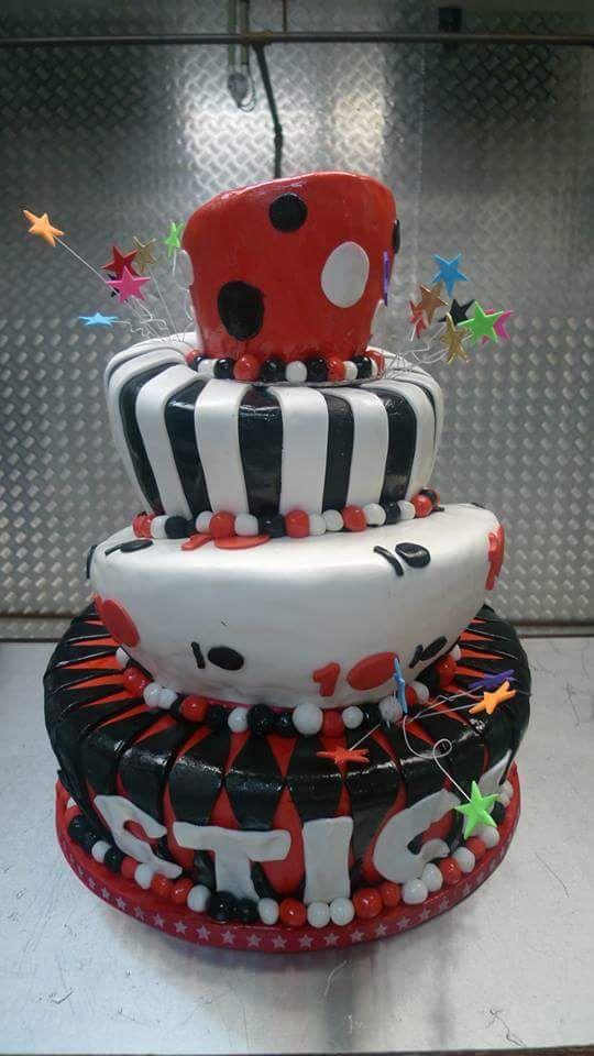 Ten Year Birthday Cake for the CTICC