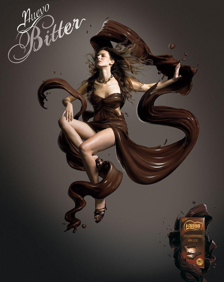 Nestle Bitter Chocolate Ad
