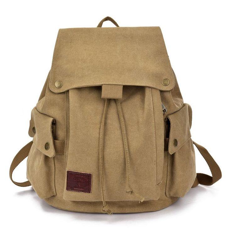 Women Unisex Backpack Canvas Drawsting Travel School Bags Teenagers Casual Vintage Style Back Pack Necessaire De Viagem  #backpack #bag #fashion #shoulderbags #L09582 #Happy4Sales #bagshop #highschool #WomenWallets #YLEY #handbags #kids  #NewArrivals