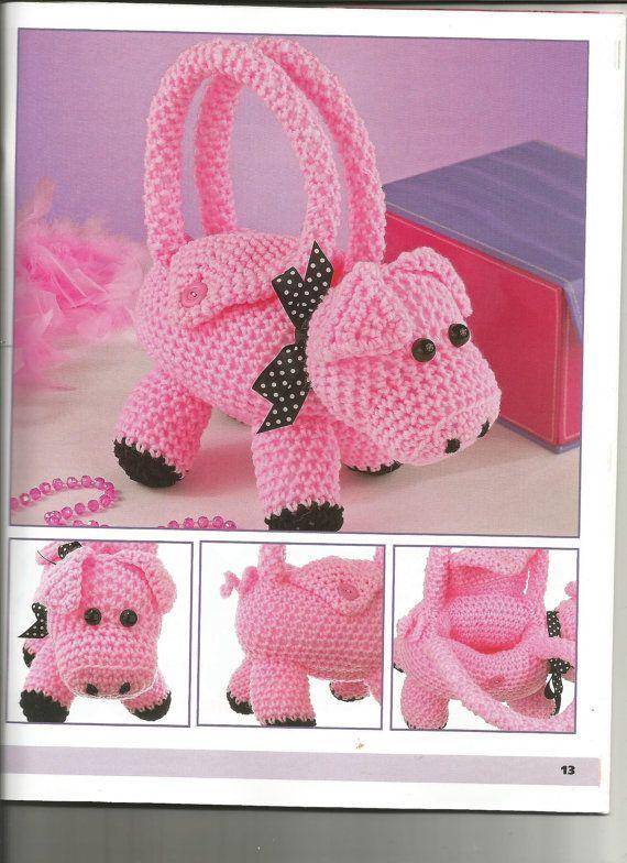 49 mejores imágenes de aCrochet Piggies en Pinterest | Patrones ...
