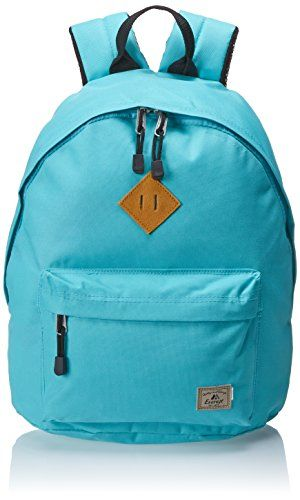 Everest Vintage Backpack, Aqua Blue, One Size. For product & price info go to:  https://all4hiking.com/products/everest-vintage-backpack-aqua-blue-one-size/