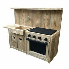 Keukentje steigerhout