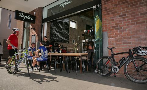 Rapha Cycle Club -  Rapha is a premium cycling brand that started life in a London park in 2004. Founder Simon...