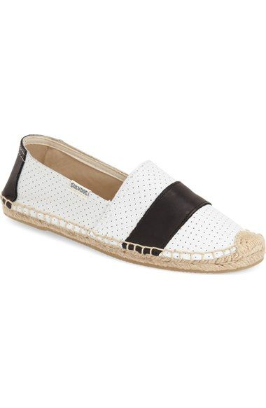Soludos 'Barca' Perforated Espadrille Slip-On (Women)