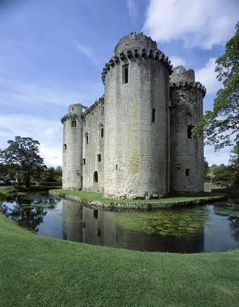 Nunney Castle is a castle in Nunney, Sommerset, England, built by Sir John DeLamare in late 14th century