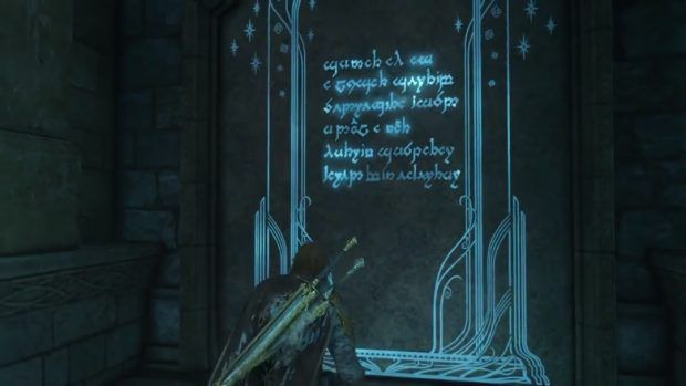 Middle Earth Shadow Of War Todas As Solucoes Dos Poemas Ithildin Critical Hits Neon Signs Neon Shadow