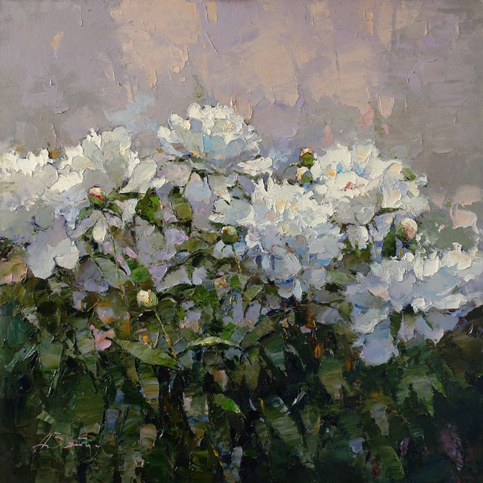 Peonies<br><i>(price request)</i> - Alexi Zaitsev - Sale of paintings and other art works