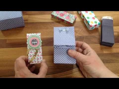 Make an extra small gift bag with Stampin' Up! Gift Bag Punch Board - Stampin' Connection