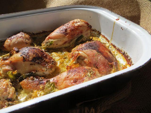 Pro lásky z lásky: Kuře se zelenými fazolkami a zakysanou smetanou