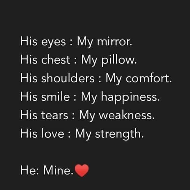 Him My Everything Quotes Mirror Quotes Husband Quotes