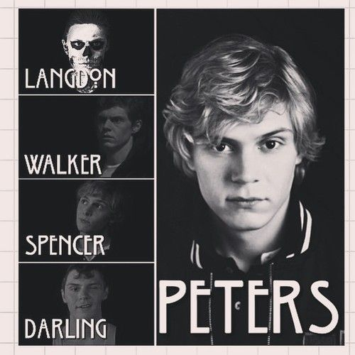 Imagem de evan peters, ahs, and american horror story