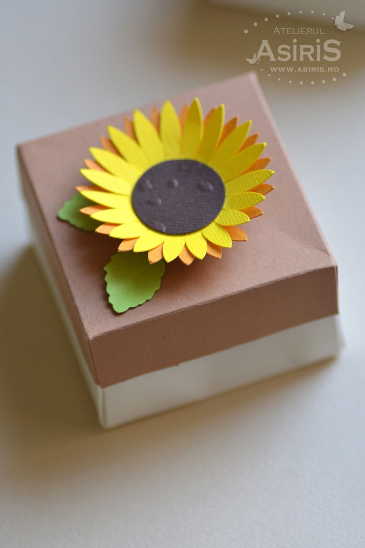Sunflower Handmade Box