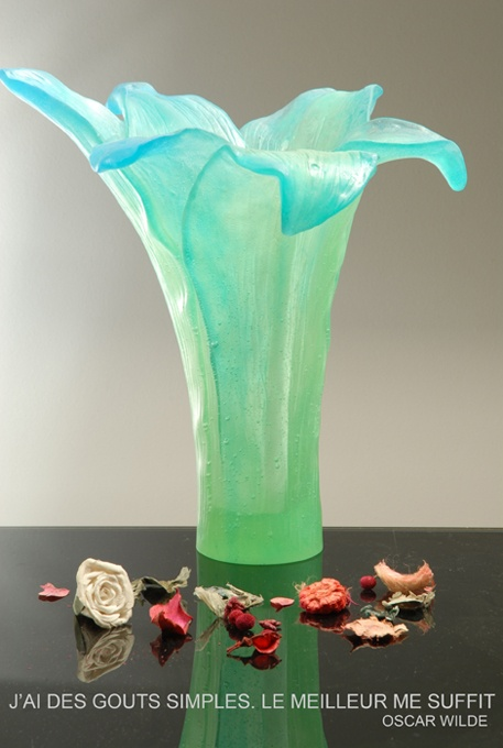 cristal de lorraine:fabrication d'objets en