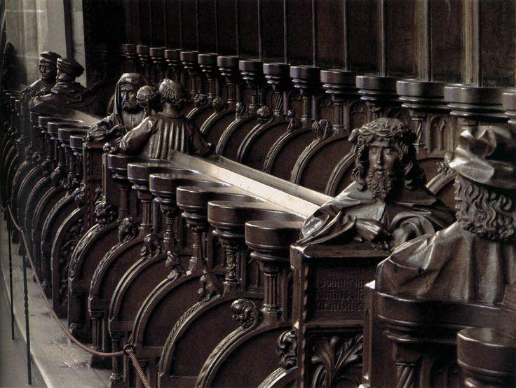 SYRLIN, Jörg the Elder  Choir stalls  1469-74  Oak  Münster, Ulm