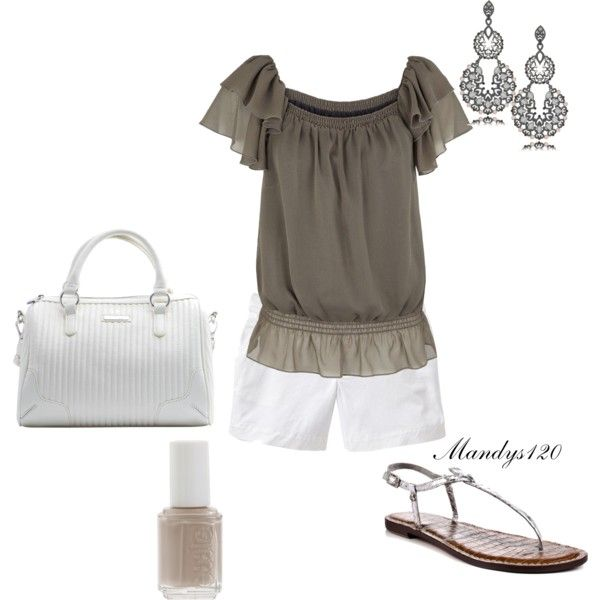 Outfit: Aspiring Fashionista, Breezy, Dream Closet, Cute Simple Outfits, White Outfit, Cute Summer Outfits, Weight Loss Products, Craft Ideas