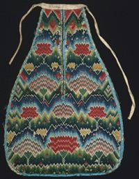 Philadelphia Museum of Art - Collections Object : Woman's Embroidered Pocket