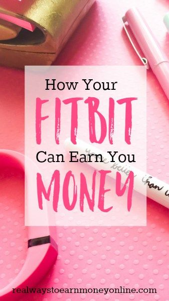 How your Fitbit can actually earn you money!