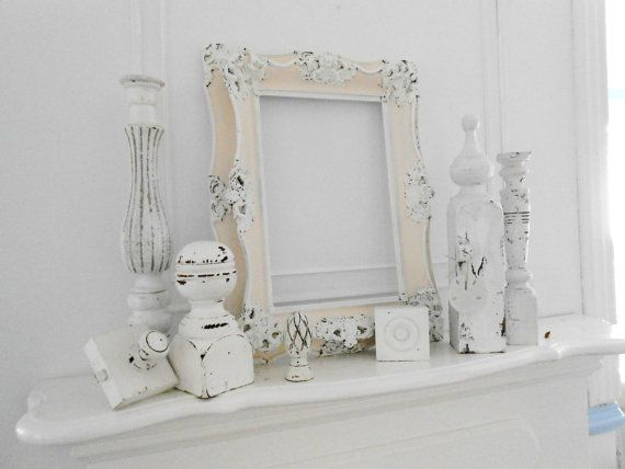 The 25 best shabby chic fireplace ideas on pinterest - Manteles shabby chic ...