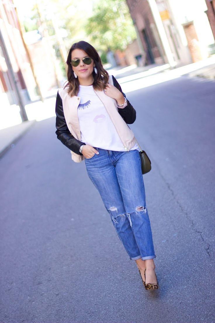 How to style boyfriend jeans! Ft. @michaelkors, @jcrew & @hm