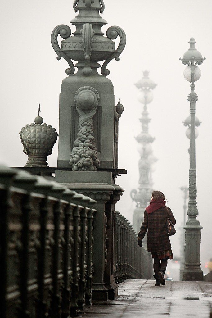 St. Petersburg, Russia. It's beautiful in any weather!