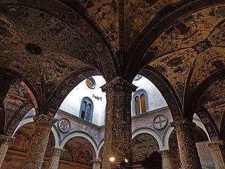 Florence - Palazzo Vecchio. Courtyard