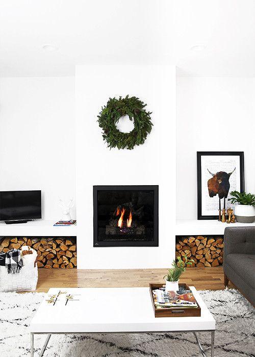 cozy fireplace inspiration and christmas mantel decor home decor rh pinterest com