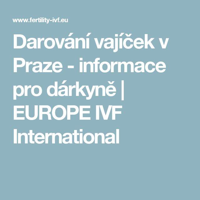 Darování vajíček v Praze - informace pro dárkyně | EUROPE IVF International