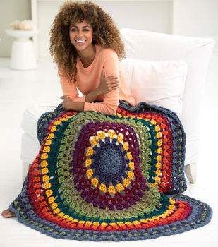 How to Crochet A Newfield Circle Afghan