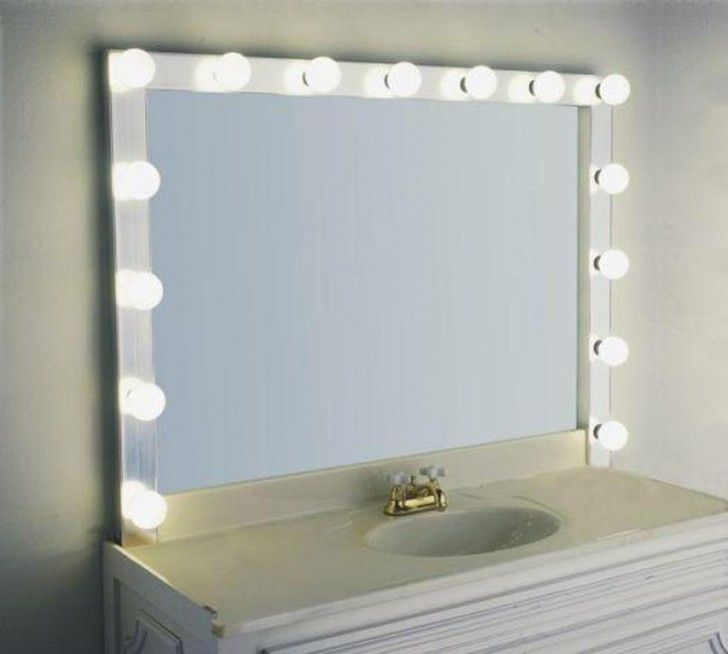 10 Best Lighted Vanity Mirror Ideas Images On Pinterest