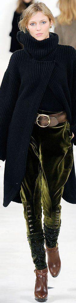 Ralph Lauren Fashion Show details & more