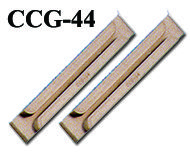 PCB Card Guides CCCG-44   These are for rack chassis and are having fixing tabs. Available in ABS #PCBCardGuides #PCBGuides #PCB #CardGuides #GaurangEnclosures Mfg: www.gaurang.com