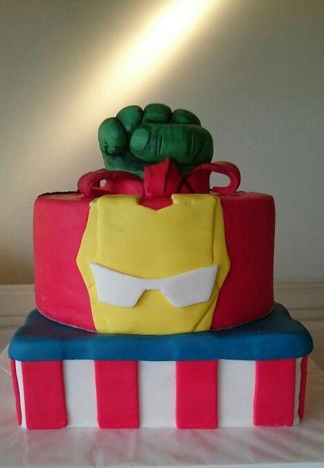 Torta vengadores