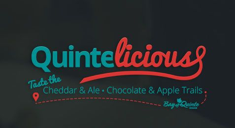 Quintelicious Experience at The Bay of Quinte Region from October 1-24, 2015