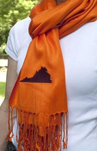 Virginia Tech scarf - for my Virginia Tech Friends :) @Virginia Hyer @Lauren Anderson @Krissy Peacock