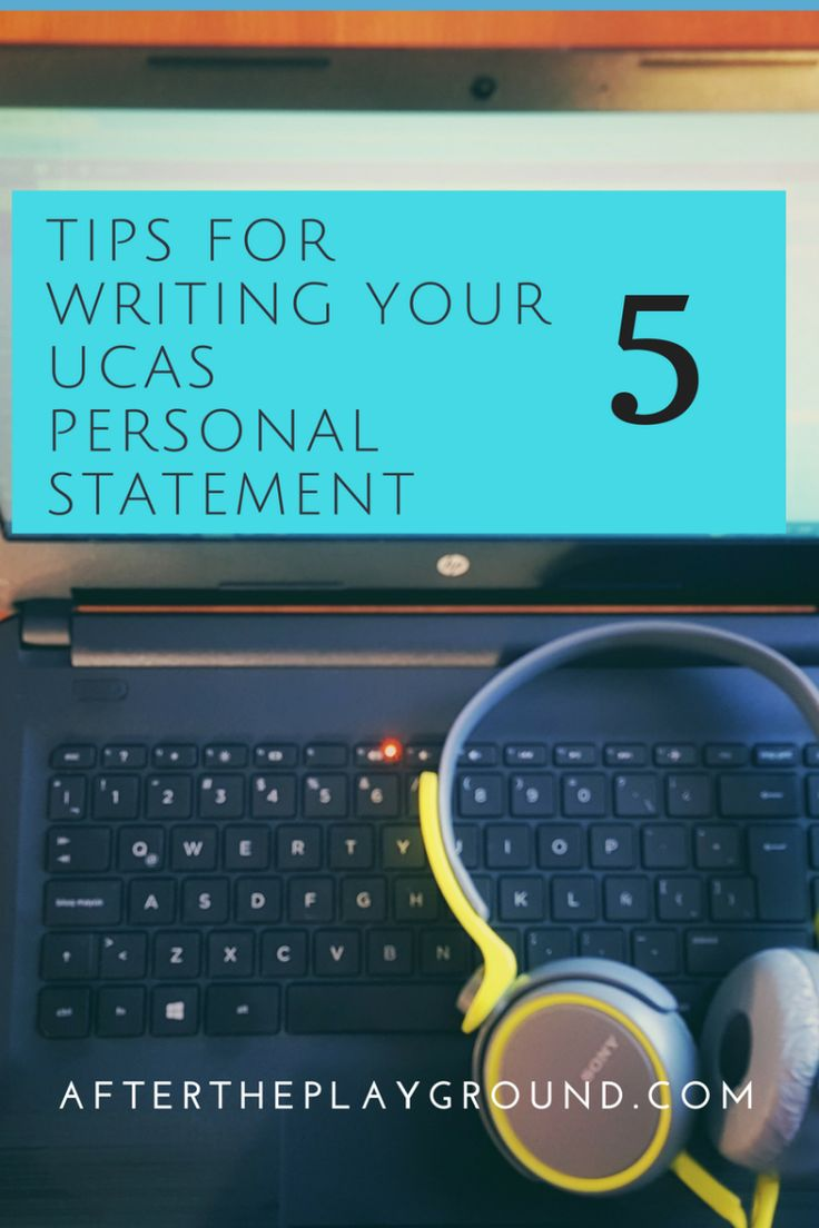 Tips for writing a phd personal statement
