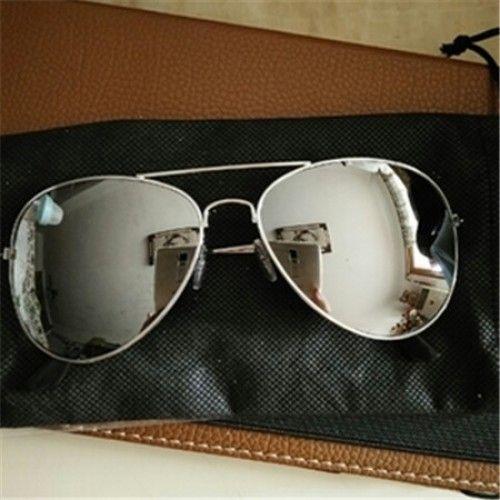 男性女性反射レンズ紫外線カットサングラス-ドライブおしゃれクラシックサングラス-輝くカラフル眼鏡