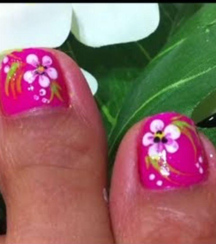 Mejores 51 imágenes de Toe Nail Designs en Pinterest   Diseños para ...