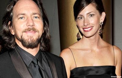 Eddie Vedder and  wife Jill McCormick Vedder