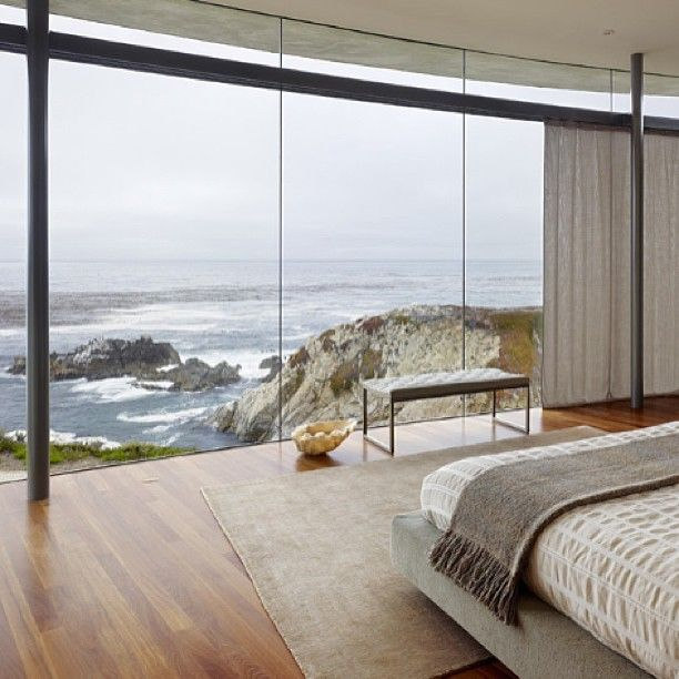Bedroom with a view #view #dreamhomes
