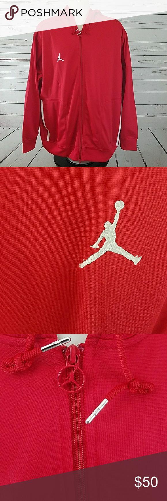 Nike Air Jordan Hoody XL Mens Red Jumpman  23 Nike Air Jordan Hoody XL Mens Red Jumpman  23 Brand New With Tags Nike Jackets & Coats