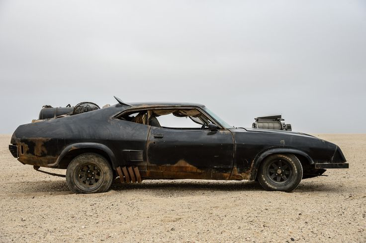 Max's Interceptor makes a brief appearance at the beginning of Mad Max Fury Road.  Photographer: Jasin Boland via Bloomberg