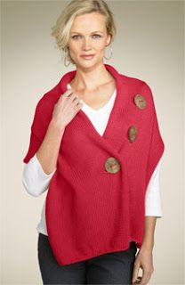 Knit Wits: Three Button Wrap .  I was thinking I would simply purchase a fabric …