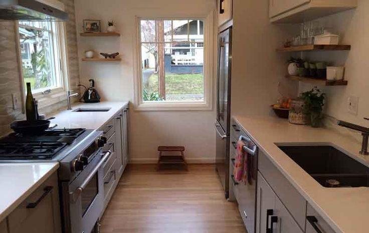 best 25 small kitchen layouts ideas on pinterest kitchen layouts small kitchen designs and. Black Bedroom Furniture Sets. Home Design Ideas